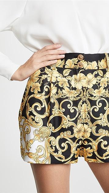 Versace 印花短裤