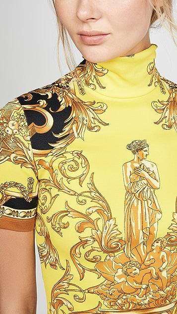 Versace 高领短款上衣