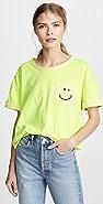 Vika Gazinskaya Smile 口袋 T 恤