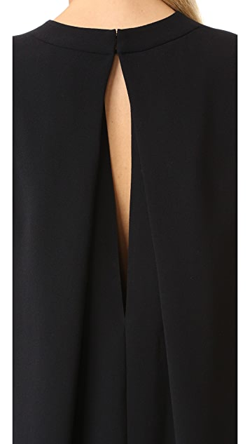 Vince 无袖直筒连衣裙