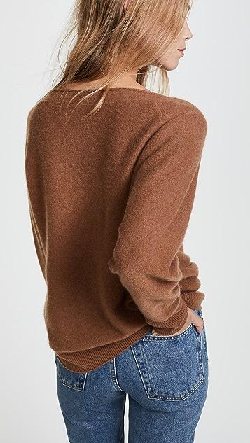 Vince 连肩开司米羊绒毛衣