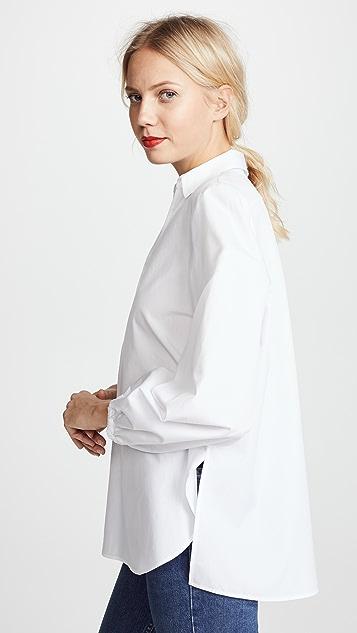 Vince 飘逸前幅女式衬衫