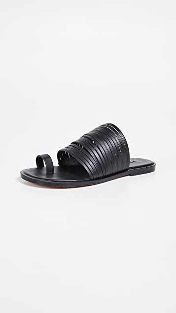 Vince Penrose 趾环拖鞋