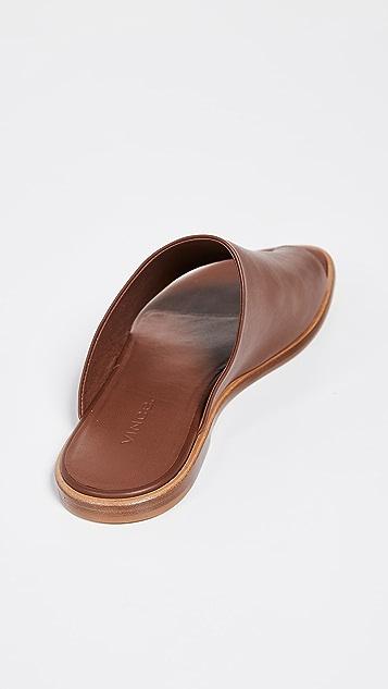 Vince Edris 趾环凉拖鞋