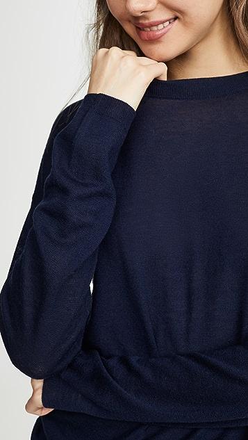 Vince 长袖针织 T 恤