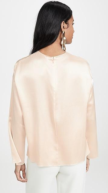 Vince 长袖女式衬衫