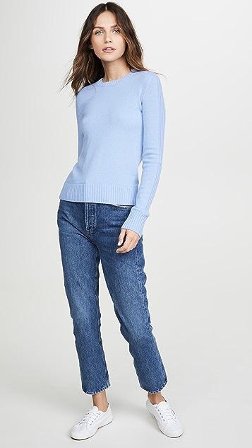 Vince Runner 罗纹开司米羊绒针织衫