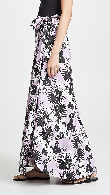 Viva Aviva Kawai 热带裹身半身裙