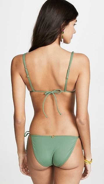 ViX Swimwear Bamboo Shaye 三角形比基尼上衣