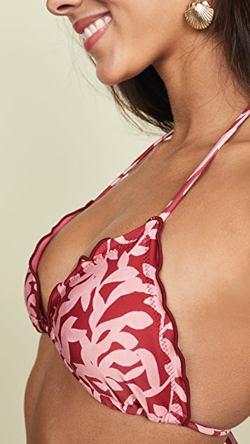 ViX Swimwear Ripple 比基尼上衣