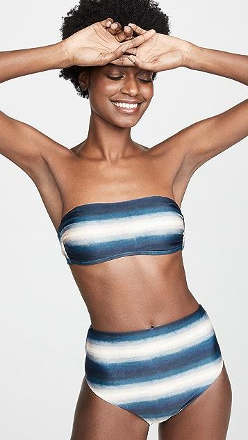 ViX Swimwear Lake 抹胸式比基尼上衣