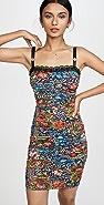 Versace Jeans Couture 花朵印花连衣裙