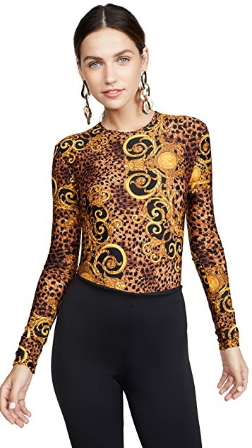 Versace Jeans Couture 标志连体衣
