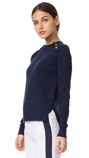 Victoria Victoria Beckham 系扣前襟毛衣