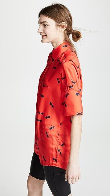 Victoria Victoria Beckham 短袖衬衣