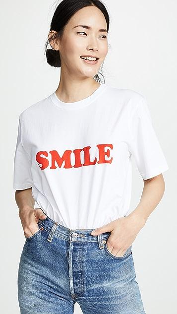 Victoria Victoria Beckham Smile T 恤