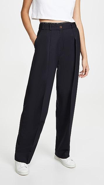 Victoria Victoria Beckham 织带细节长裤