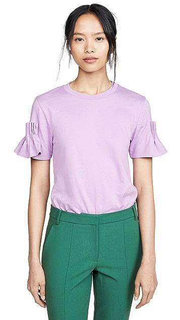 Victoria Victoria Beckham Cartridge 褶皱 T 恤