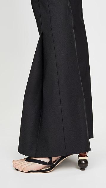 Victoria Victoria Beckham 褶皱裤子