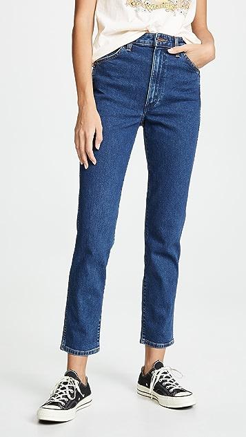Wrangler 女士拉链牛仔裤
