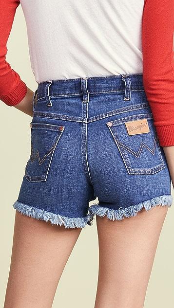Wrangler 超短裤