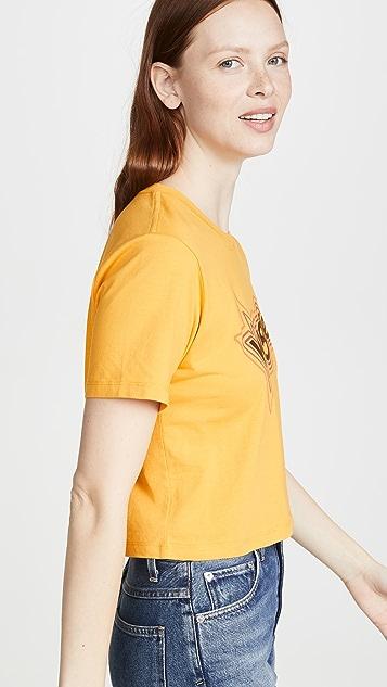 Wrangler 超短设计 T 恤