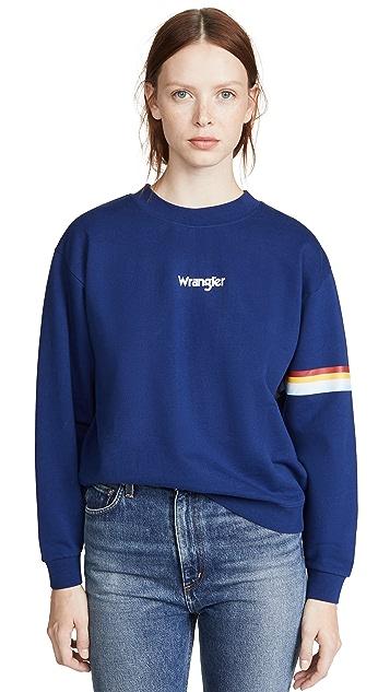 Wrangler 80 年代复古运动衫