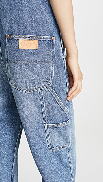 Wrangler 实用连体裤