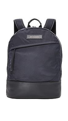 원트 레스 에센셜 Kastrup 백팩 WANT LES ESSENTIELS Kastrup Nylon Backpack,Black Nylon/Black