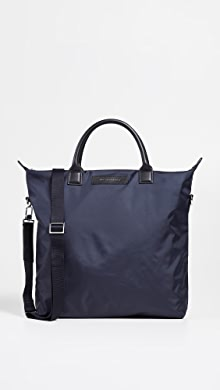 원 레스 에센셜 WANT LES ESSENTIELS OHare Nylon Shopper Tote,Navy