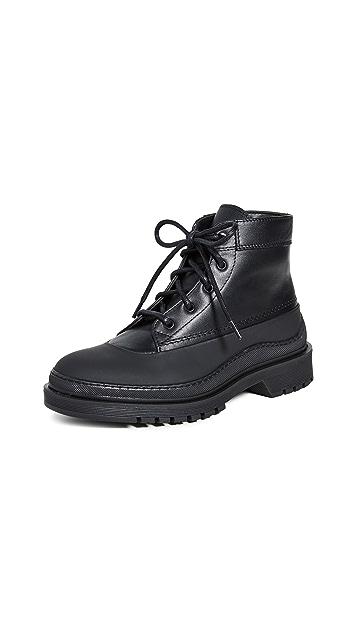 WANT Les Essentiels Luton 工装风格中筒靴