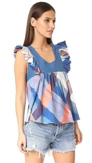 冬情暖意 Farmstand 女式衬衫