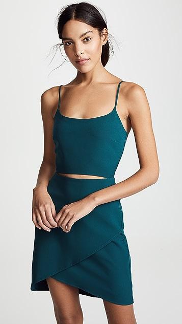WAYF Newport 镂空吊带连衣裙