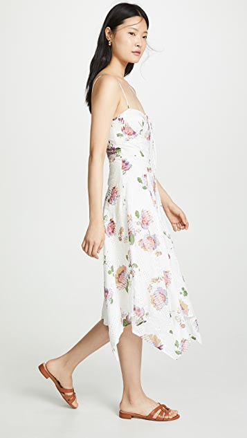 WAYF Hampshire 方巾式连衣裙