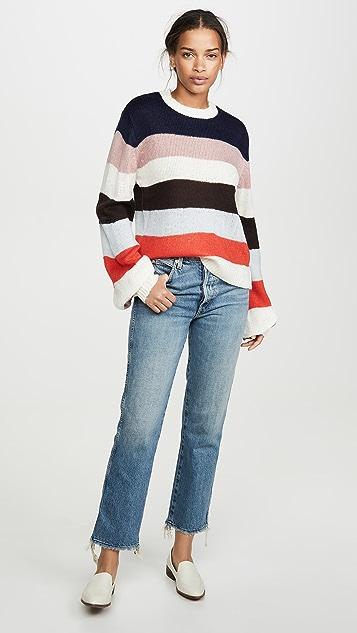 WAYF Weston 条纹毛衣