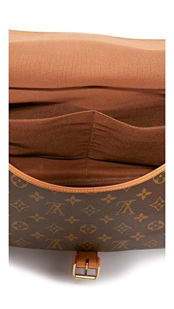 What Goes Around Comes Around Louis Vuitton 交织字母包(二手)