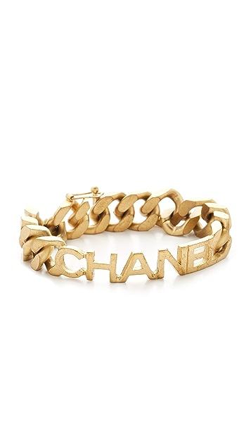 What Goes Around Comes Around Chanel 名牌链式手链(二手)