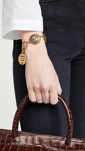 What Goes Around Comes Around Chanel CC Burst 圆币手链
