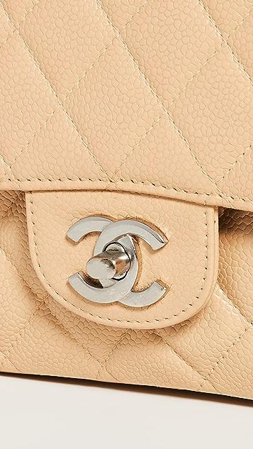 What Goes Around Comes Around Chanel Beige Caviar 2.55 10