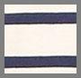 象牙白海军蓝