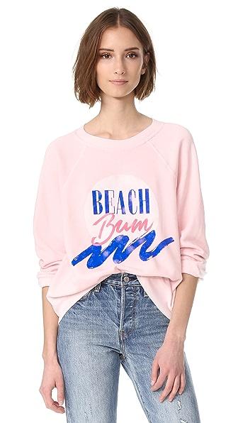Wildfox Beach Bum 运动衫