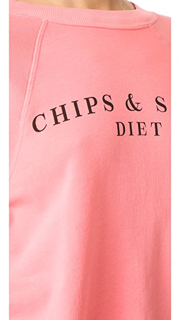 Wildfox Chips & Salsa 运动衫