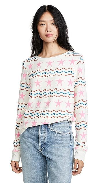 Wildfox 宽松沙滩运动衫