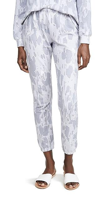 Wildfox 迷彩运动裤