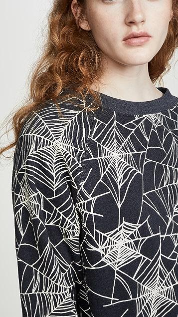 Wildfox 黑寡妇蜘蛛运动衫