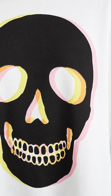 Wildfox Glow Skull Roadtrip 运动衫