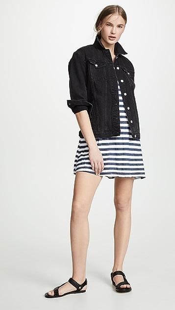 Wilt 条纹短袖连衣裙