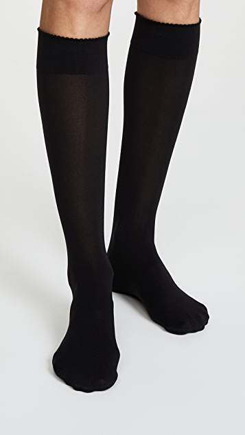 Wolford Velvet De Luxe 50 及膝袜子