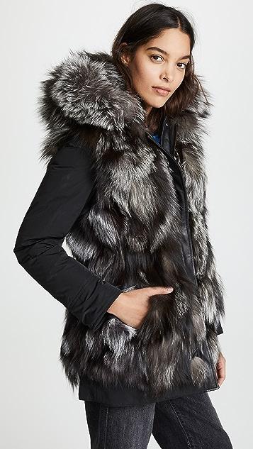Woolrich Somerset 双面穿派克大衣