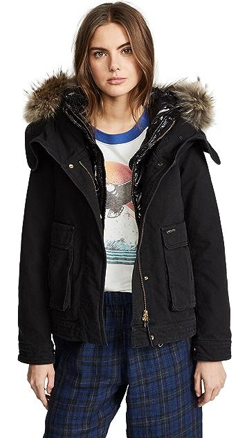 Woolrich 三合一 Winola 短款派克大衣